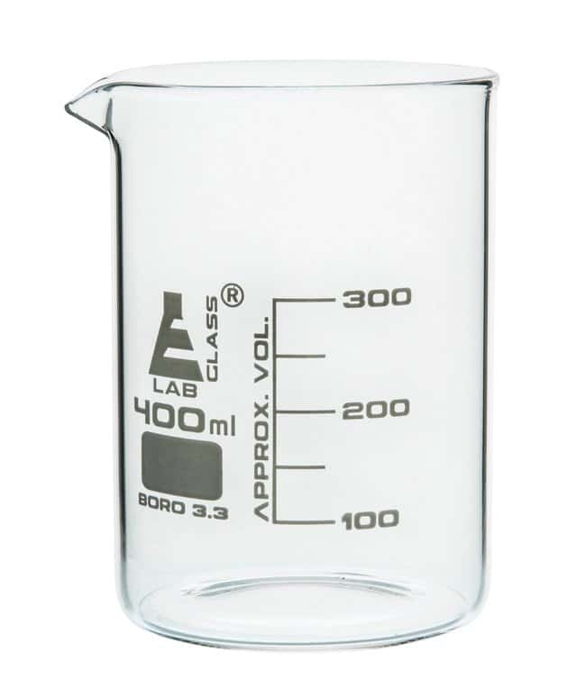Eisco  Low Form Borosilicate Glass Beakers