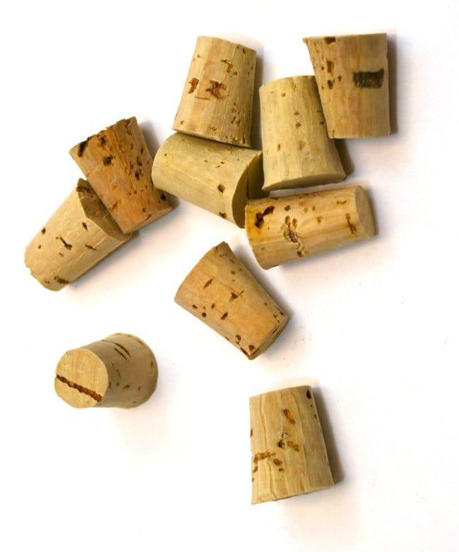 Eisco Bark Cork Stopper  Size no. 2, bottom 9mm, top 13mm, length 17mm:Teaching