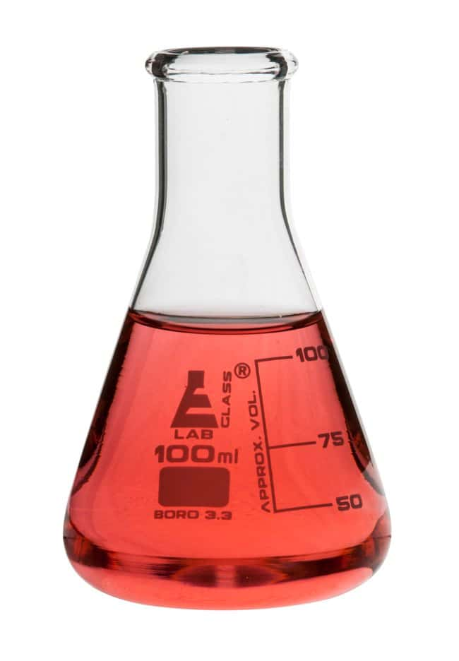 Eisco Erlenmeyer Flasks, Narrow Neck:Teaching Supplies:Classroom Glassware