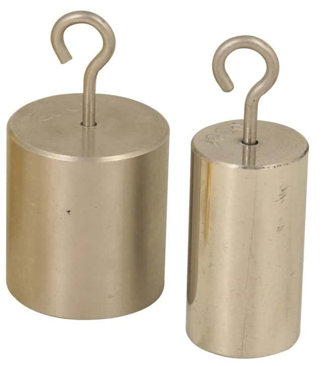 Eisco Solid Stainless Steel Hooked Weights :Balances, Scales and Weighing:Calibration
