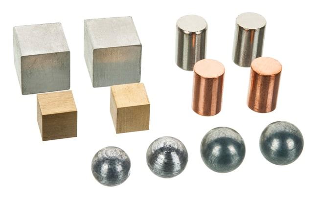 Eisco Density Metals Variety Set, 12 Pieces  1 Kit:Teaching Supplies