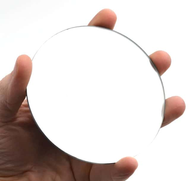 Eisco Glass Concave Mirrors :Teaching Supplies:Physics Classroom