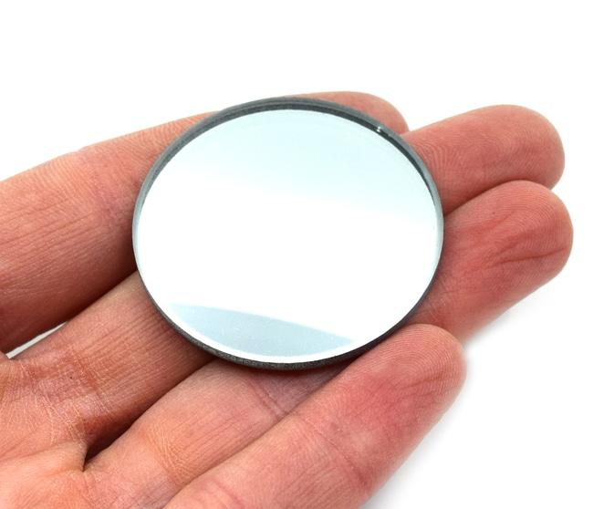 EiscoGlass Convex Mirrors 38 mm, 50 mm:Education Supplies