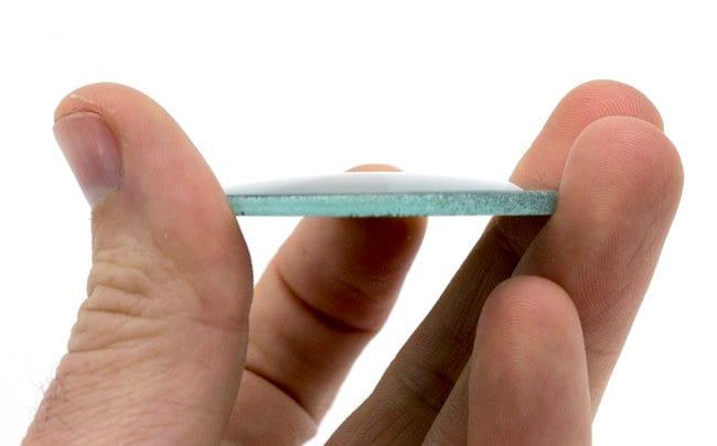 EiscoGlass Convex Mirrors 50 mm, 50 mm, 2.8 mm:Education Supplies