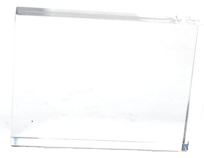 Eisco Acrylic Rectangular Block  100 x 75 x 18mm:Teaching Supplies