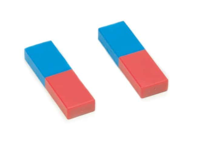 Eisco Pair of Plastic Bar Magnets  Bar Magnet:Teaching Supplies