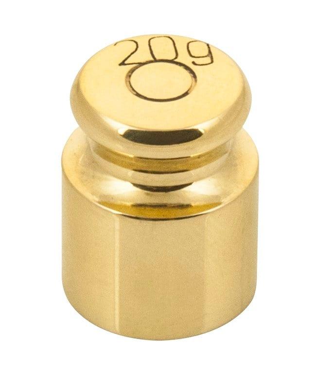 Eisco Brass Balance Weights  20g:Teaching Supplies
