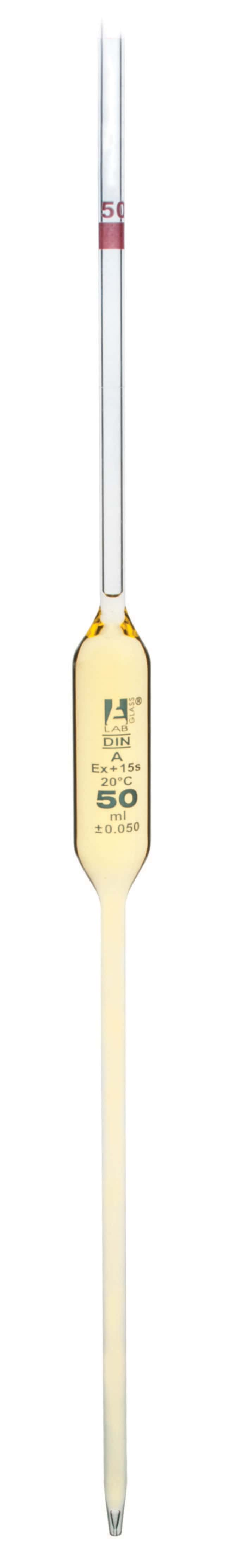 Eisco Class A Volumetric Pipet, Borosilicate Glass:Pipets, Pipettes and