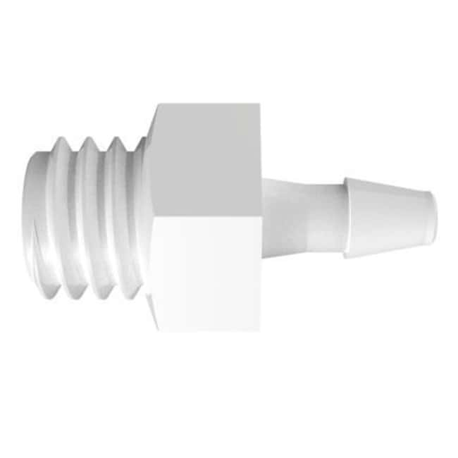 FisherbrandAdapter with 10-32 UNF Thread x 1/16 in. Barb - Natural Kynar:Pumps