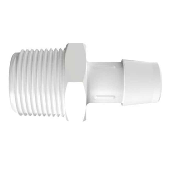 Fisherbrand Adapter with 3/4 in. NPT Thread x 5/8 in. Barb - Polypropylene