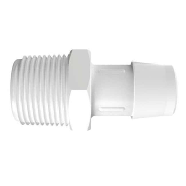Fisherbrand Adapter with 3/4 in. NPT Thread x 3/4 in. Barb - Polypropylene