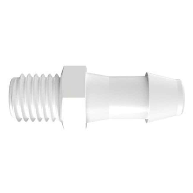 FisherbrandAdapter w/ 1/4 in.-28 UNF Thread x 3/16 in. Barb - Polypropylene:Pumps