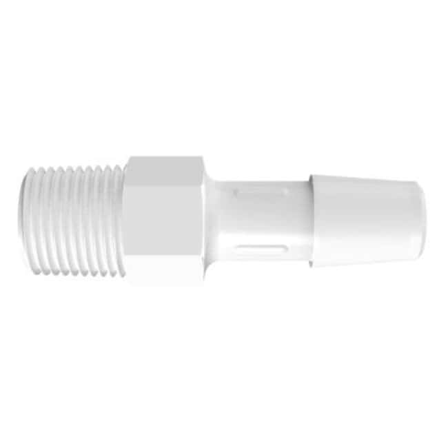 Fisherbrand Adapter with 1/8 in. NPT Thread x 5/16 in. Barb - Polypropylene