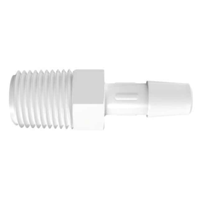 Fisherbrand Adapter with 1/4 in. NPT Thread x 5/16 in. Barb - Polypropylene
