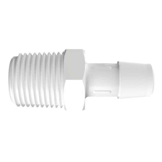 FisherbrandAdapter with 1/2 in. NPT Thread x 1/2 in. Barb - Natural Kynar:Pumps