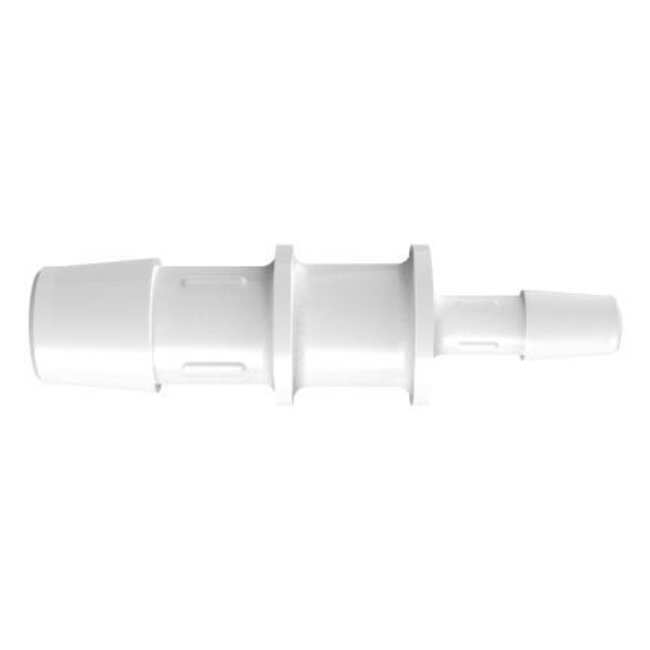 Fisherbrand Reduction Coupler with 1/2 in. ID x 1/4 in. ID - Polypropylene