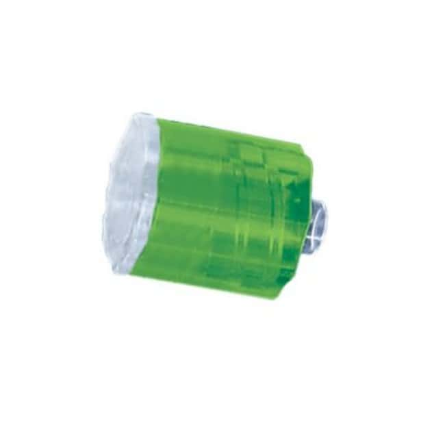 FisherbrandStationary plug - Medical Nylon - QC lime green:Pumps and Tubing