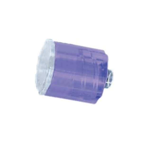 Fisherbrand Stationary plug - Medical Nylon - QC Violet Purple:Pumps and