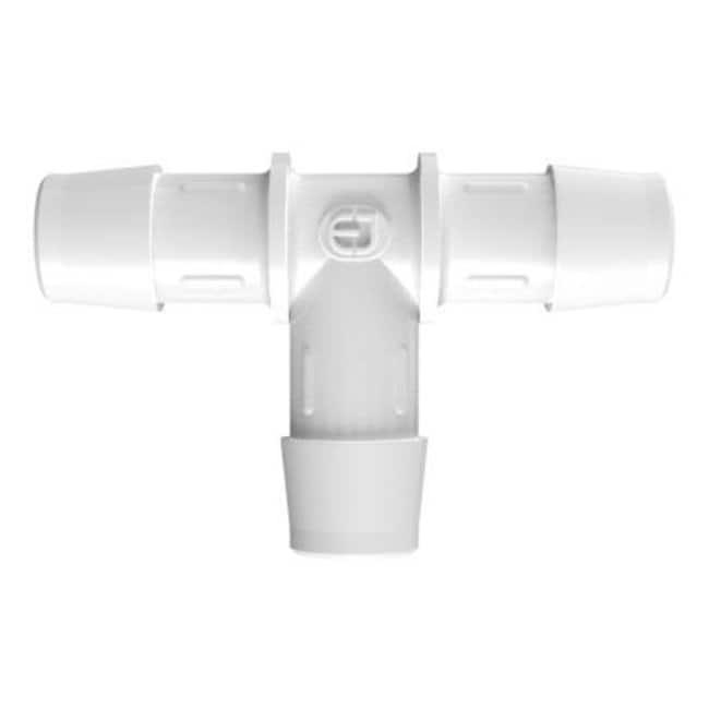 Fisherbrand5/8 in. ID Equal Tee - Natural Kynar - QC:Pumps and Tubing