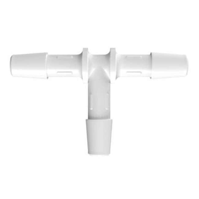 Fisherbrand 1/4 in. ID Equal Tee - Natural Kynar - QC :Pumps and Tubing