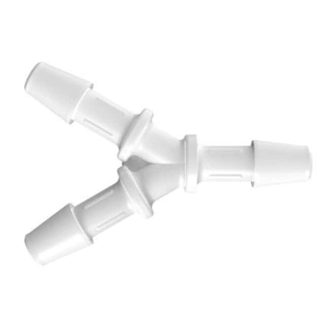 Fisherbrand Y Connector with 5/32 in. ID - Polypropylene - QC :Pumps and