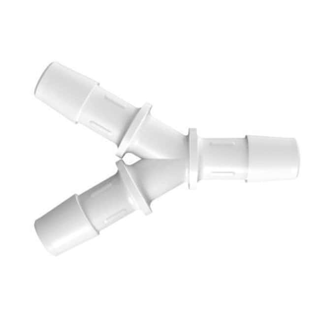 FisherbrandY Connector with 3/8 in. ID - Polypropylene - QC:Pumps and Tubing