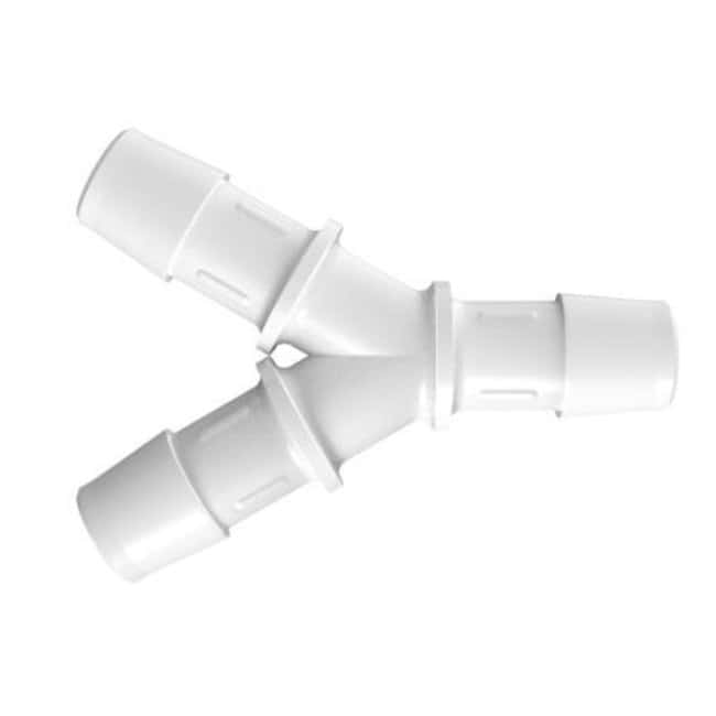 FisherbrandY Connector with 1/2 in. ID - Polypropylene - QC:Pumps and Tubing