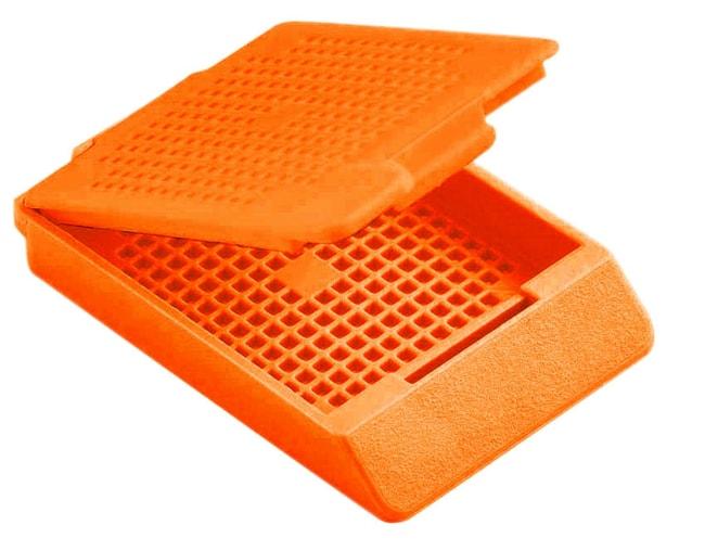 Epredia™TissueLoc™ Cassette IV Biopsy Cassettes in Tube Packs Orange Epredia™TissueLoc™ Cassette IV Biopsy Cassettes in Tube Packs