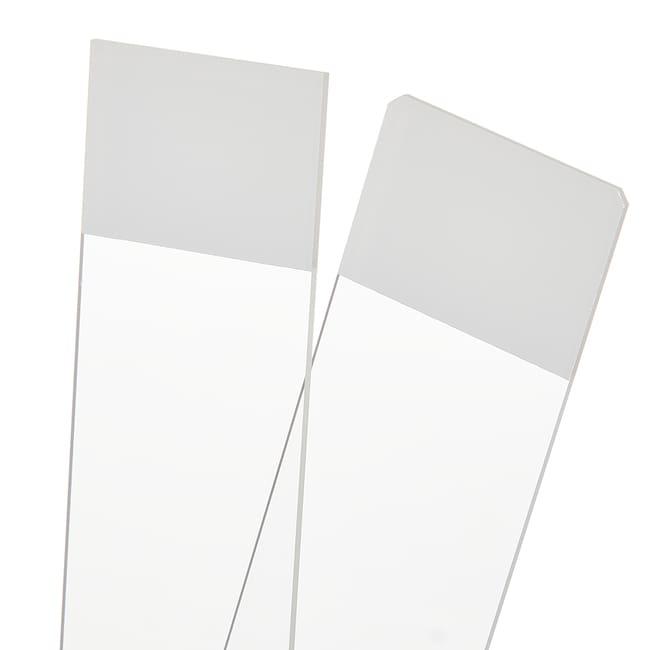 Fisherbrand Basix Non-Adhesion Slides Green; 45 degrees:Microscopes, Slides
