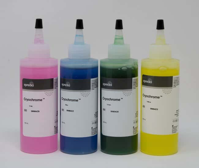 Epredia™Cryochrome™ Embedding Resin Cryochrome Sampler (one of each color) Epredia™Cryochrome™ Embedding Resin