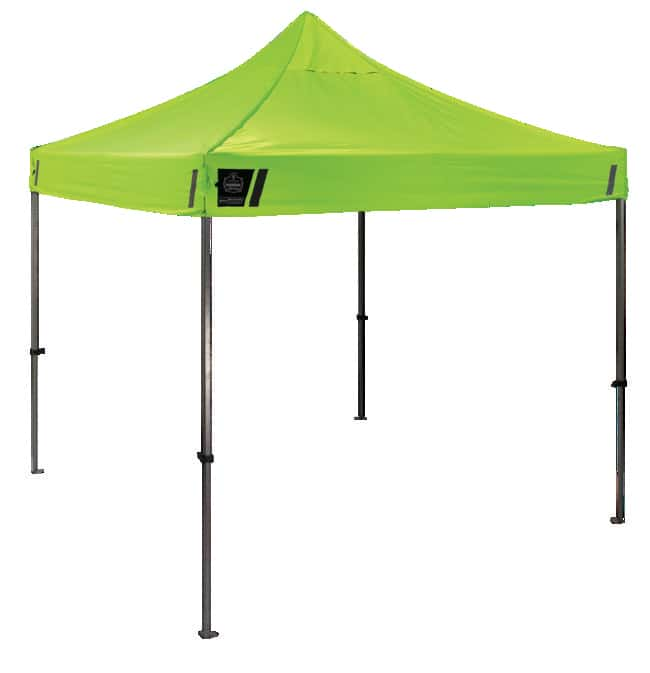 Ergodyne SHAX 6000 Heavy-Duty Commercial Pop-Up Tent Lime:First Responder