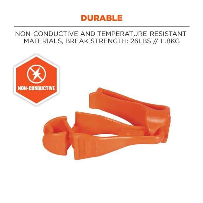 ErgodyneSquids 3405 Glove Clip Holder - Belt Clip:Personal Protective Equipment:Hand