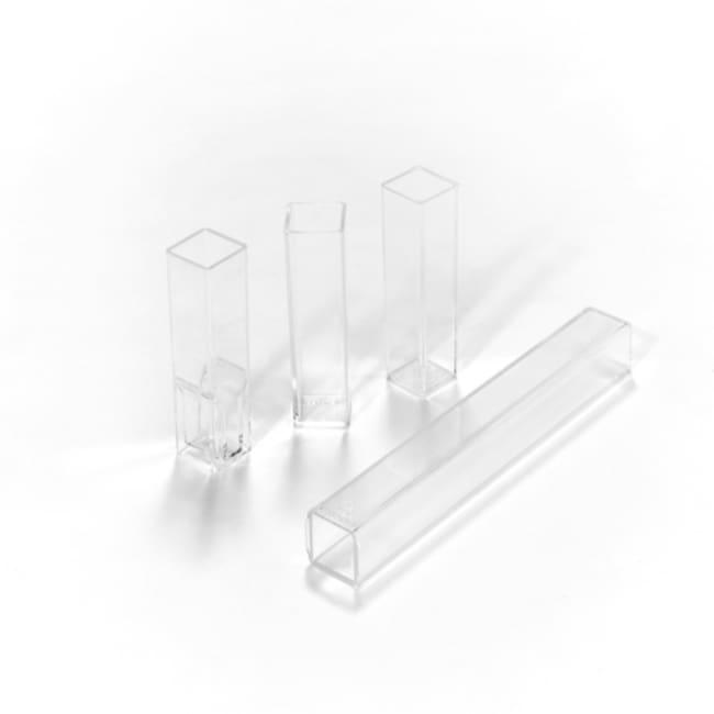 Caplugs Evergreen Scientific Spectrovette Cuvets UVT acrylic; Semi-micro:Beakers,