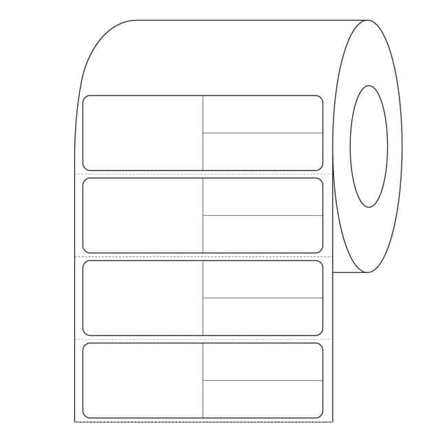 FisherbrandMeditech - Multi Set label 3 in.:Facility Safety and Maintenance:Labels