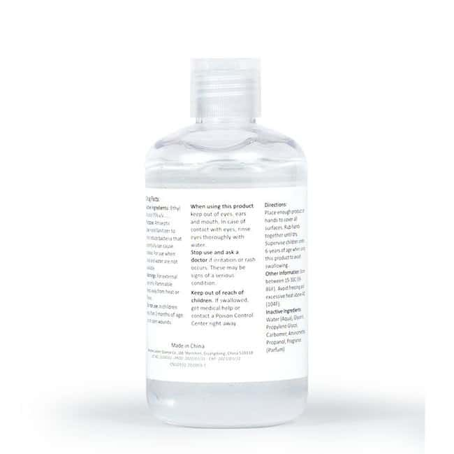 Keep Clean Hand Sanitizer 240 mL (8 oz.):Gloves, Glasses and Safety