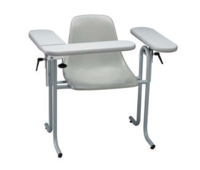 DUKAL Tech-Med Blood Drawing Chair with Plastic Seat Plastic Seat, Formica
