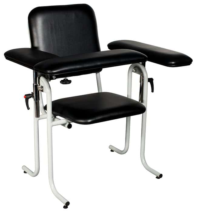 DUKAL Tech-Med Upholstered Blood Drawing Chair, Standard Upholstered, Flip