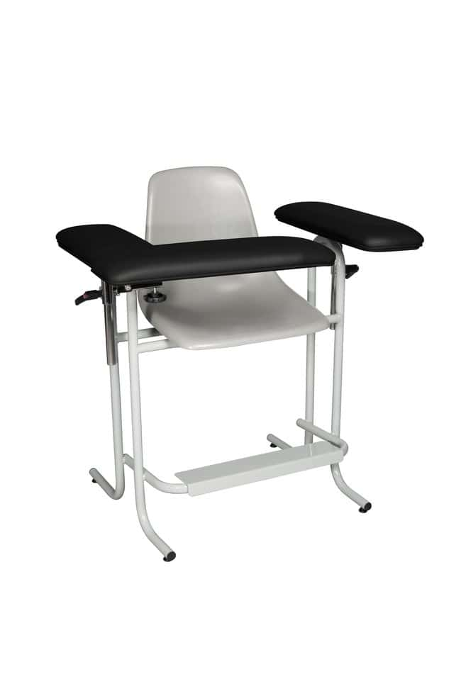 DUKAL Tech-Med Blood Drawing Chair with Plastic Seat Plastic Seat, Upholstered