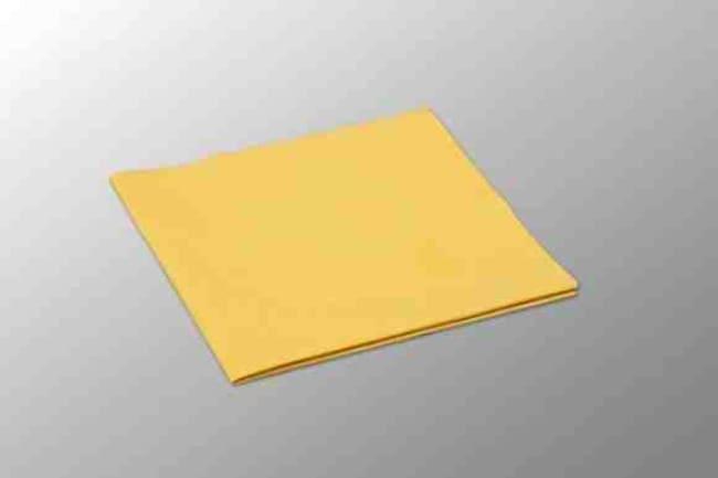 Vileda Professional PVAmicro Cloth Size: 13x15in; Yellow; 5/Pk, 20pks/CS.:Gloves,