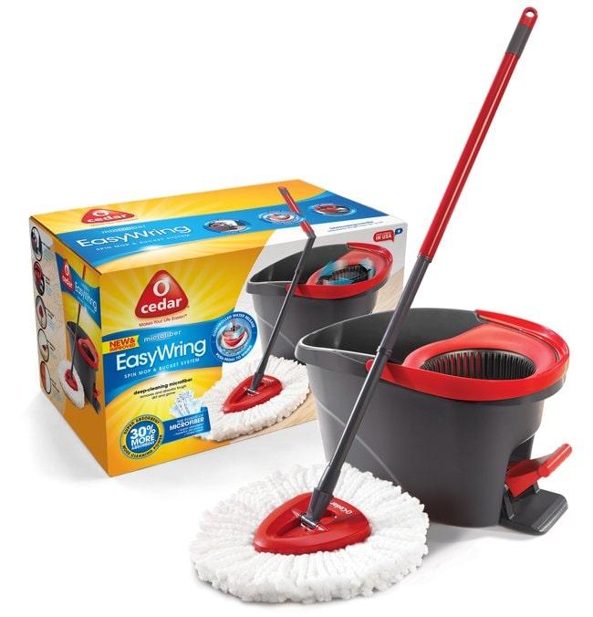 Vileda Professional O'Cedar Easy Wring Spin Mop and Bucket System O'Cedar™