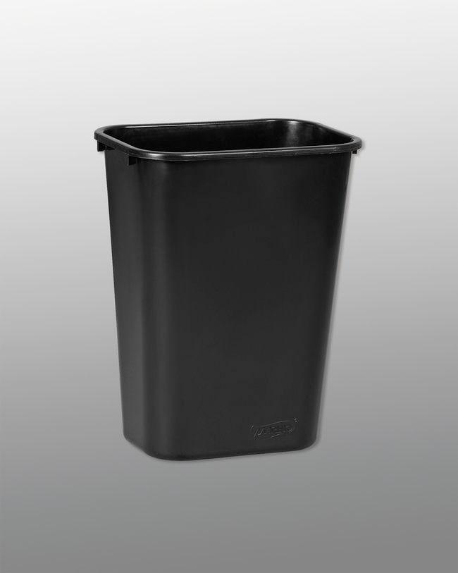 Vileda Professional 41qt Waste Basket- Large Color: Black; Material: Recycled