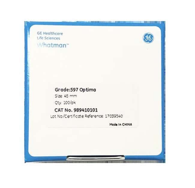 CytivaWhatman Grade 597 Optima Qualitative Filter Papers PROMO:Filters