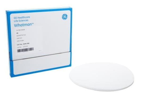 GE HealthcarePapiers quantitatifs: Papier filtre Filtration