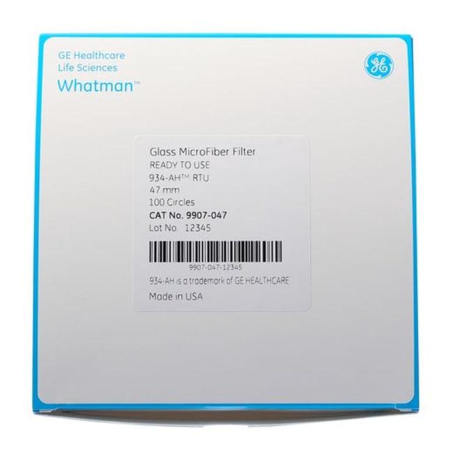 GE HealthcareWhatman™ Grade 934-AH RTU Glass Microfiber Filters, Ready to Use 14mm diameter Glass Fibre Filters and Prefilters