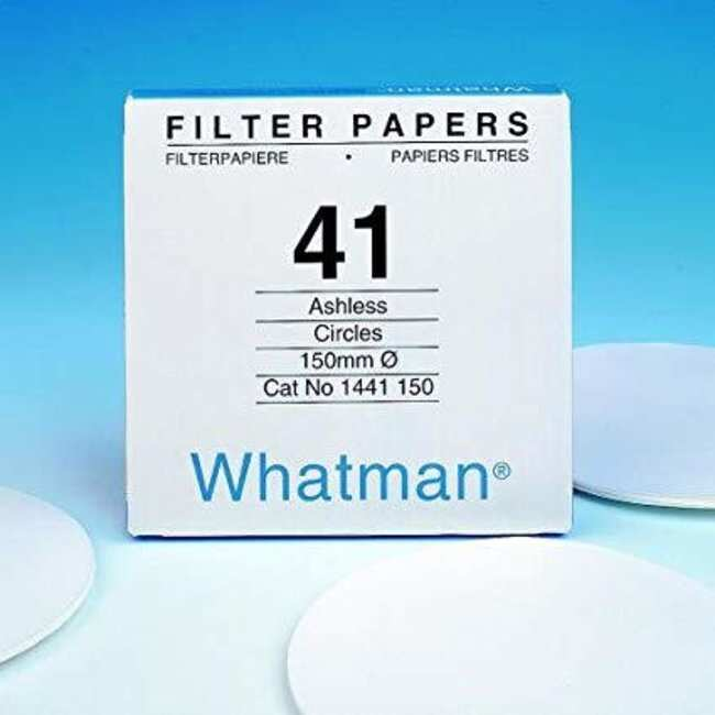 Cytiva (Formerly GE Healthcare Life Sciences) Whatman™ Environmental pollution analysis papers with gravimetric filter suited for quantitative analysis of soil and air.