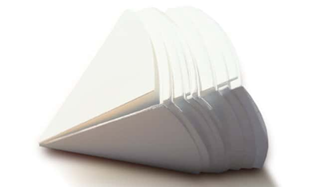 Cytiva (Formerly GE Healthcare Life Sciences)Whatman™ Pyramid Folded Filter Papers Grade 6 Cytiva (Formerly GE Healthcare Life Sciences)Whatman™ Pyramid Folded Filter Papers