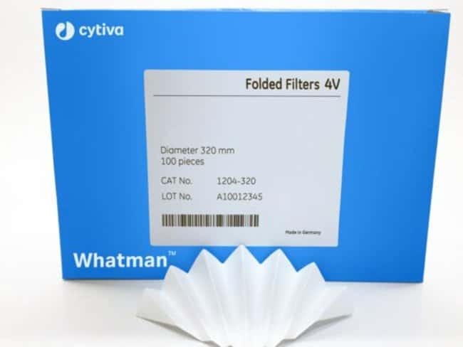 CytivaGrade 1V Qualitative Filter Papers, Fluted Diameter: 32cm CytivaGrade 1V Qualitative Filter Papers, Fluted