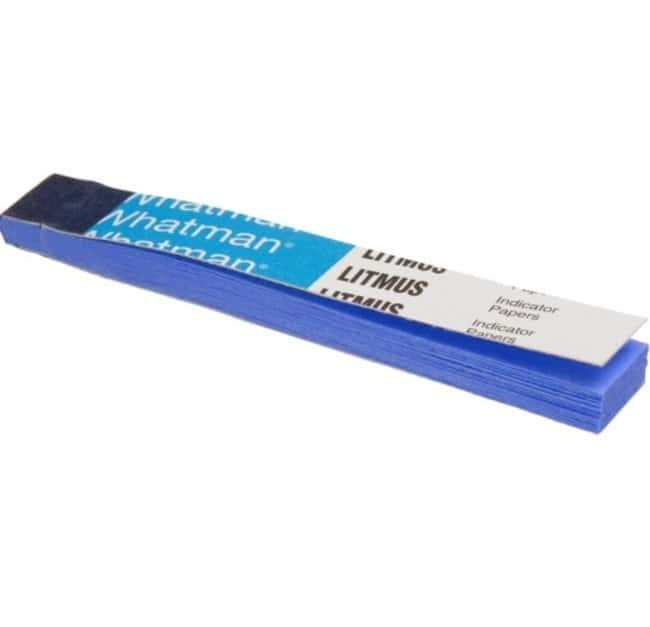 GE Healthcare Whatman™ Litmus Blue Test Paper: Additional Soil Testing Consumables Soil Testing and Analysis