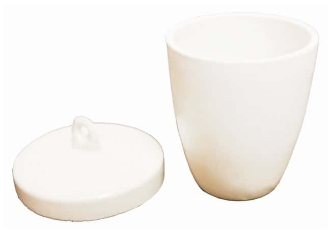 GSC Go Science Crazy High Form Porcelain Crucibles with Lids:Teaching Supplies:Classroom