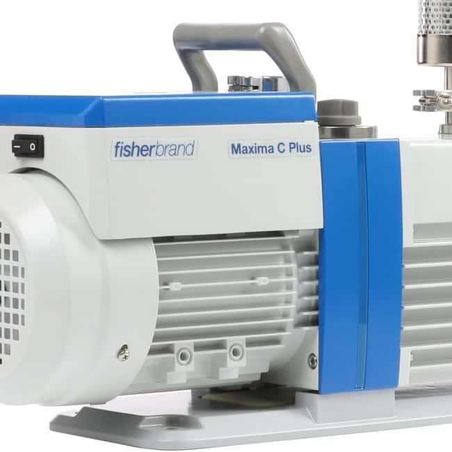 Fisherbrand Maxima Rotary Vane Vacuum Pumps - 115 V, 60 Hz Flow rate: 2.8